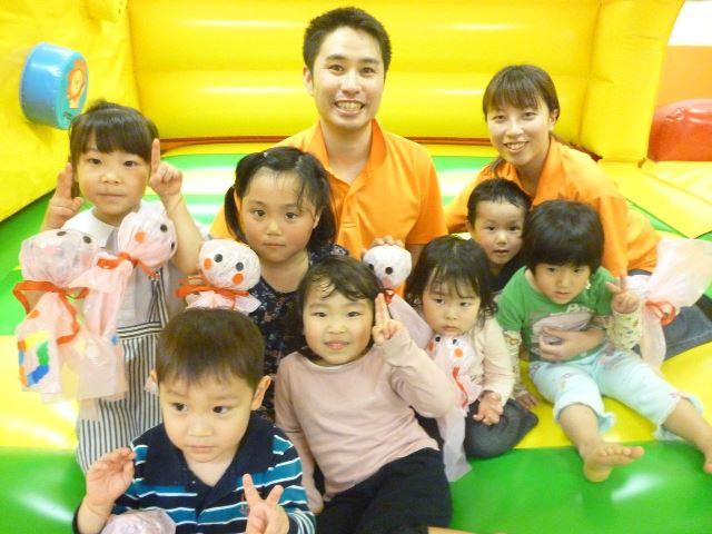 ボランティアと子どもたち